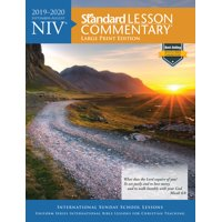 NIV Standard Lesson Commentary Large Print Edition 2019-2020