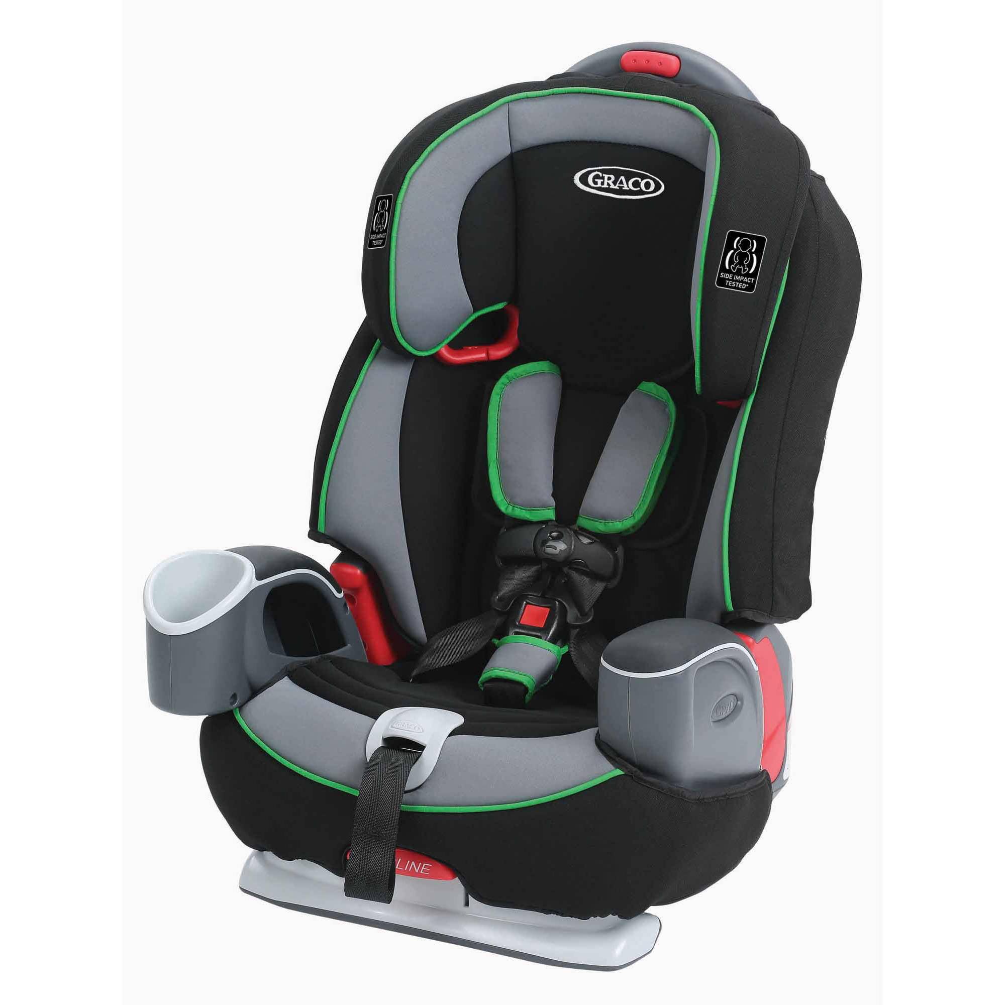 Graco Nautilus 65 3-in-1 Harness Booster Car Seat, Fern
