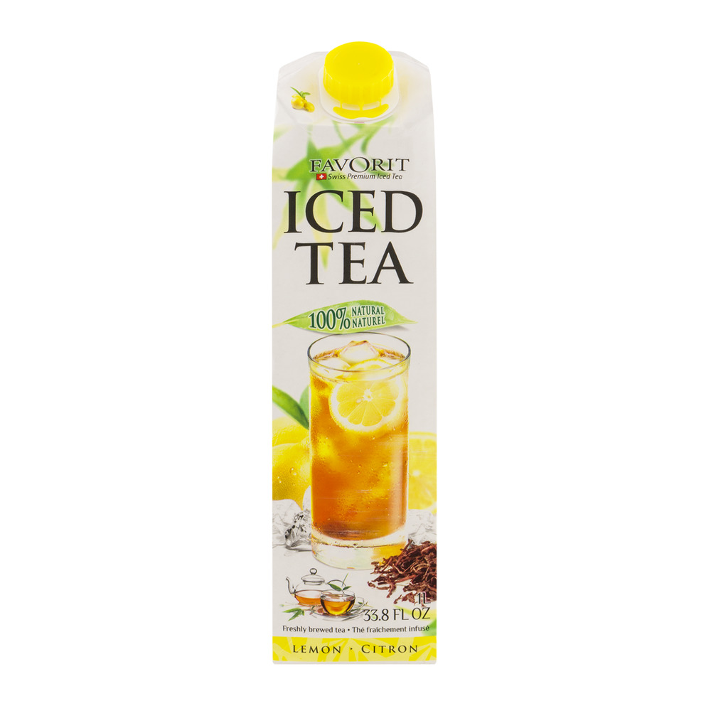 Favorit Swiss Premium Iced Tea Lemon, 33.8 FL OZ