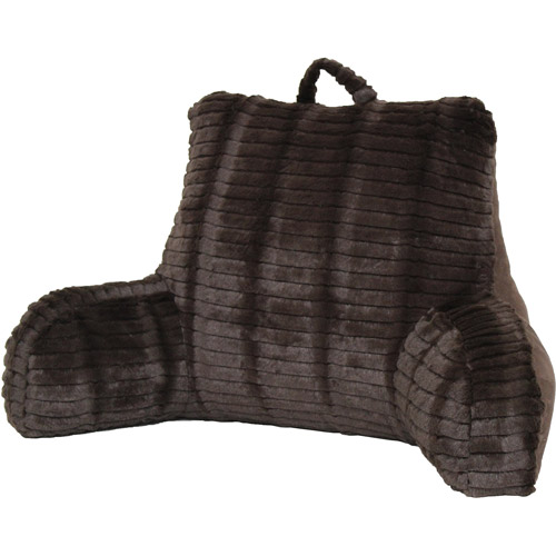 Better Homes and Gardens Cut-Fur Backrest with Suede Back