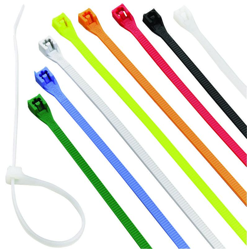 Calterm Inc 73240 4In Asst Color Cable Tie