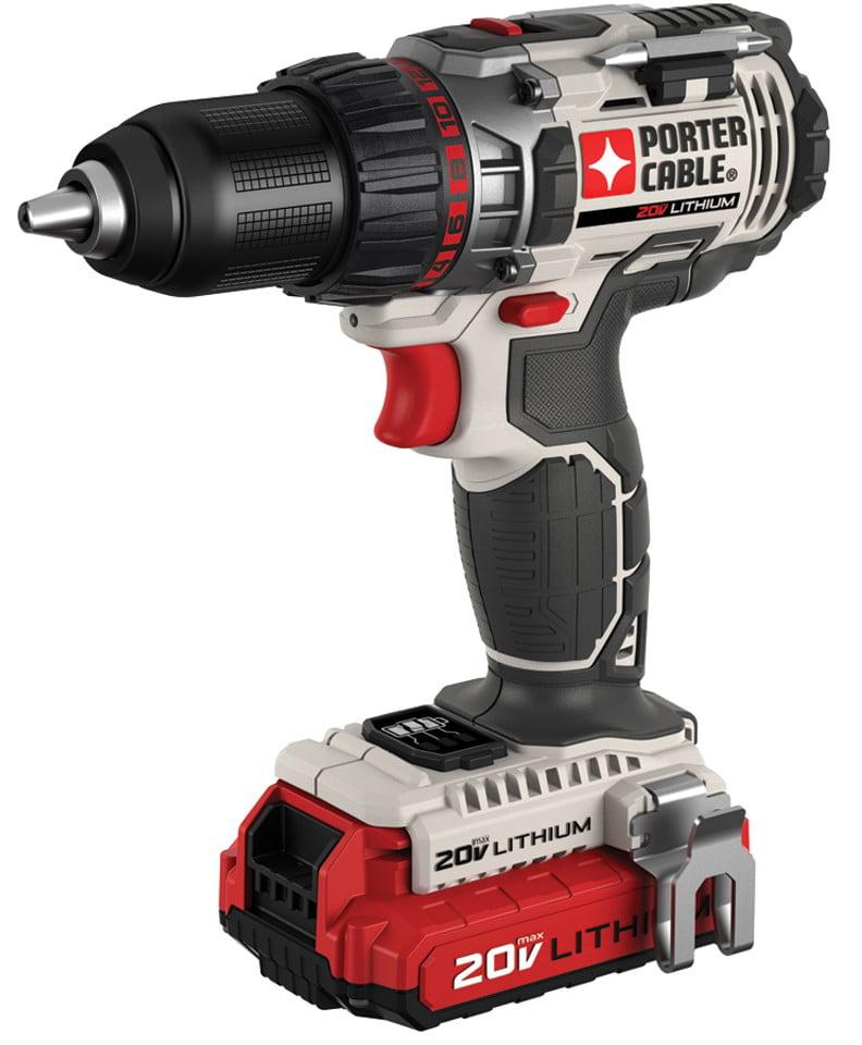 """Porter Cable PCC606LA 1 2"""" 20 Volt Drill by PCC606LA"""