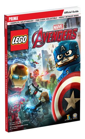Image of Prima Games Lego Marvel Avengers Official Guide