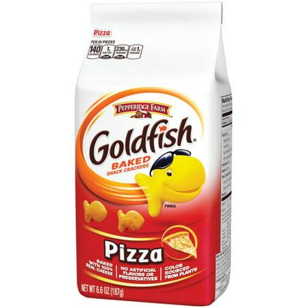 Pepperidge Farm Goldfish Pizza Crackers, 6.6 oz. Bag - Personalized Goldfish