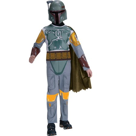 Boba Fett Deluxe Child Costume (Boy's Standard Boba Fett Star Wars)