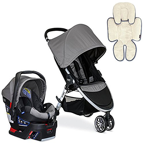 Britax 2017 B-Agile/B-Safe 35 Travel System with Support ...