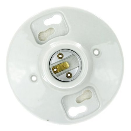 Porcelain Lampholder - Sunlite 20115-SU E196/CD1 Porcelain Lamp Holder