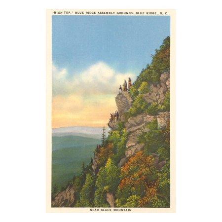 High Top, Blue Ridge Assembly Grounds, North Carolina Print Wall Art
