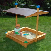 Sandbox with Toy Storage Box