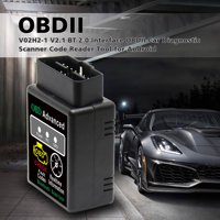 Bluetooth 2.0 Interface OBDII Car Diagnostic Scanner  Code Reader Tool for Android