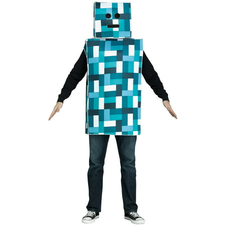 Robot Monster Adult Costume (Robot And Monster Halloween Costume)