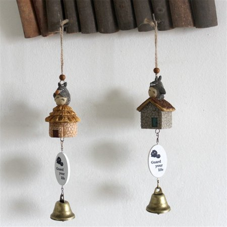 OliaDesign Totoro Wind Chimes My Neighbor Totoro (Set of 2)
