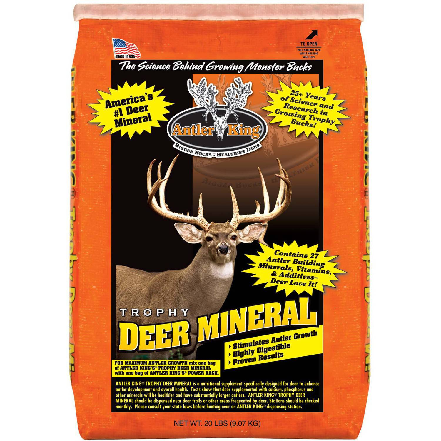 Antler King Trophy Deer Mineral