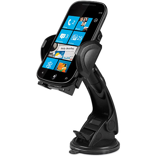 Macally MGrip2MP Suction Cup Mount for Smartphones, iPhone, iPod and GPS Units
