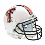 Texas Tech Red Raiders Schutt Mini Helmet - White Alternate Helmet