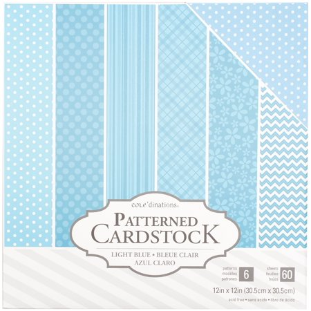 Core'dinations Value Pack Patterned Cardstock 12