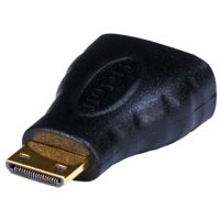 HDMI Mini Connector Male to HDMI Connector Female Adapter