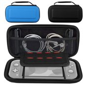 TSV Carry Case Fit for Nintendo Switch - Portable Traveler Protective Cover Large Capacity Storage Carrying Bag Case Pouch w/ 10 Game Card Slots and Inner Pocket for Chargers, Headphones, Power Bricks