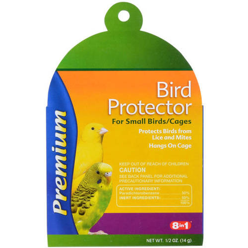 8In1 Pet Products: For Small Birds Premium Bird Protector, .5 Oz