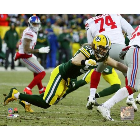 Clay Matthews 2016 NFC Wild Card Game Photo Print