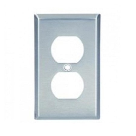 Cooper Wiring 93101-BOX One Gang SS Duplex Receptacle