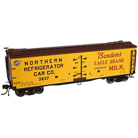 HO 40' Wood Reefer, Borden's #3837