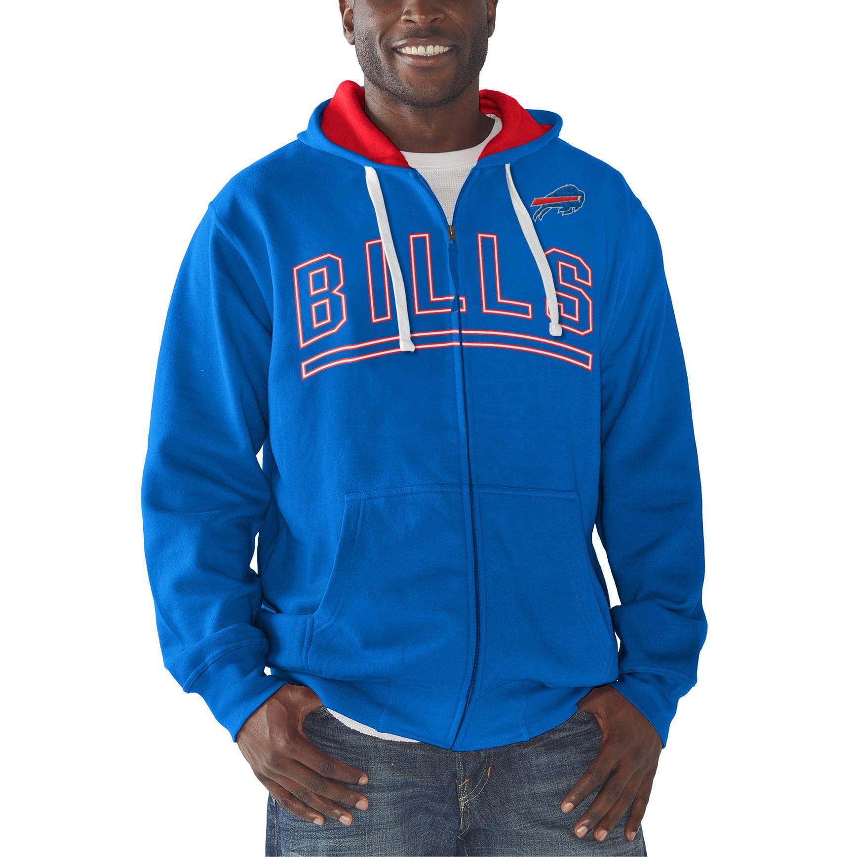 Buffalo Bills G-III Sports by Carl Banks Audible Full-Zip Fleece Hoodie - Royal