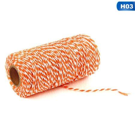 Pretty Cord - KABOER 100m Cotton Cord Bakers Twine Bundle String Ribbon Gifts Wrap Pretty Chic