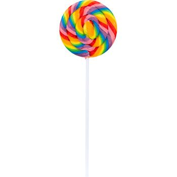 Double Lollipops - Large Swirl Lollipops (12 Count)