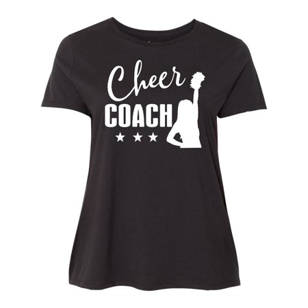 Cheer Coach Gift Idea Women's Plus Size T-Shirt for $<!---->