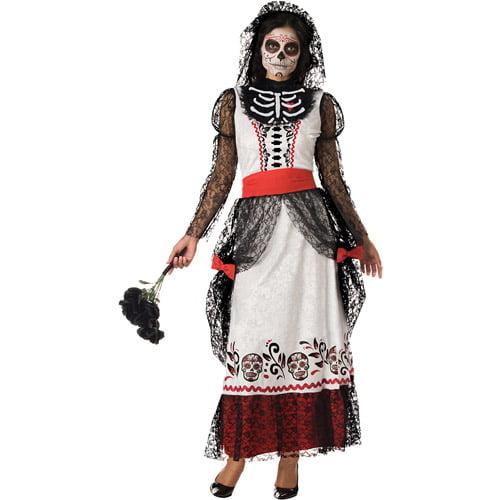 Skeleton Bride Adult Halloween Costume