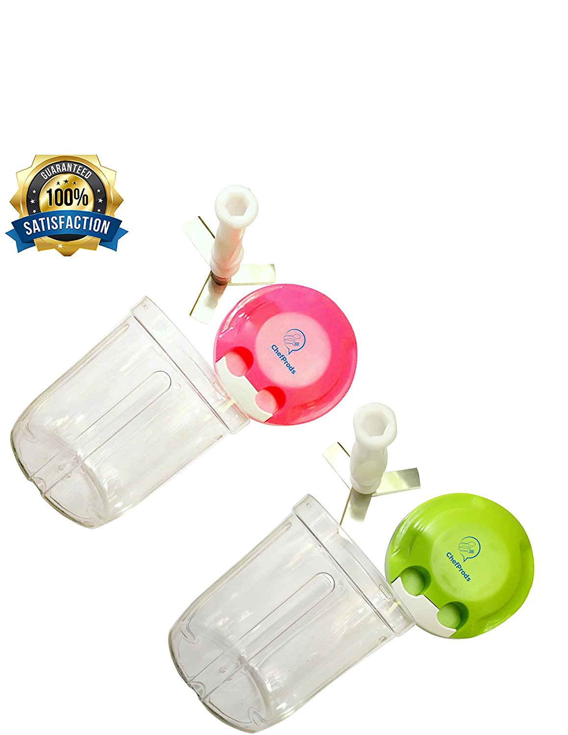 Easy Powerful Pull Food Chopper Manual Food Processor Hand Powered Vegetables Fruits Nuts... by