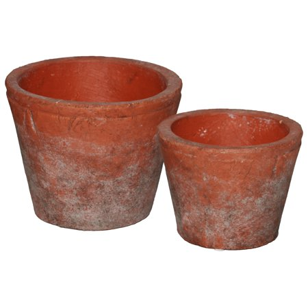 Urban Trends Collection: Ceramic Pot Washed Finish](Ceramic Pots)