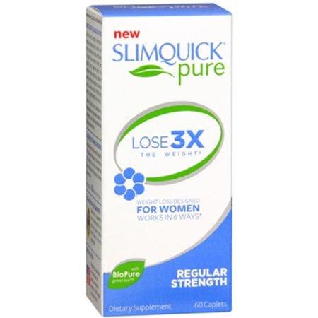 SLIMQUICK ULTRA Fat Burner Caplets 60 Caplets (Pack de 4)