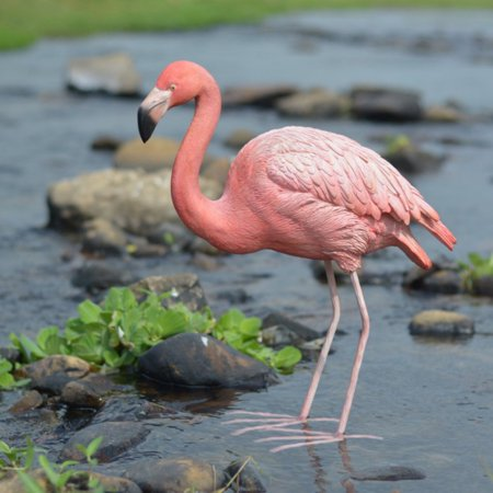 Hi Line Gift Ltd  Flamingo Bird Garden Statue