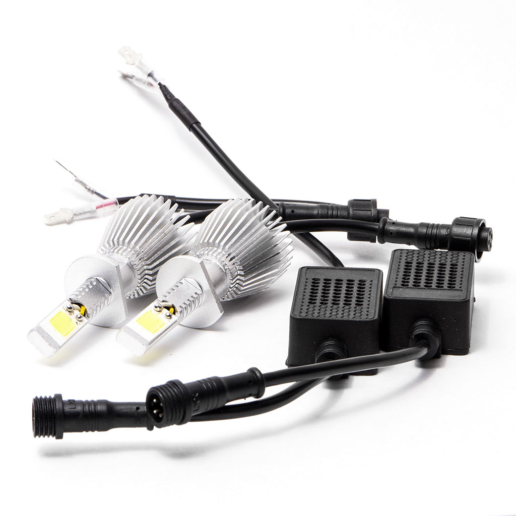 Biltek LED Low Beam Conversion Bulbs for 2009-2009 Ducati Multistrada 1100 (H1 Bulbs) - image 2 de 3