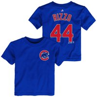 7891fd449 Product Image Chicago Cubs Toddler Anthony Rizzo Name and Number T-Shirt -  Royal #44