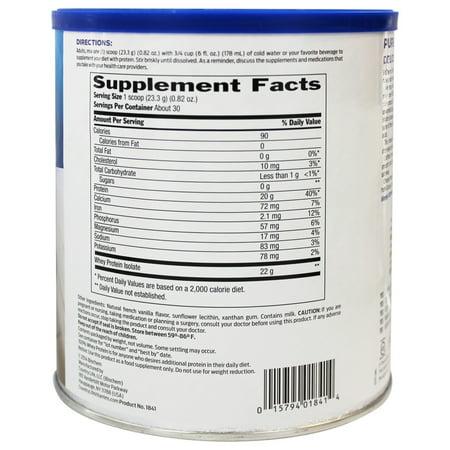 Biochem 100% Whey Protein Natural, 24 Oz