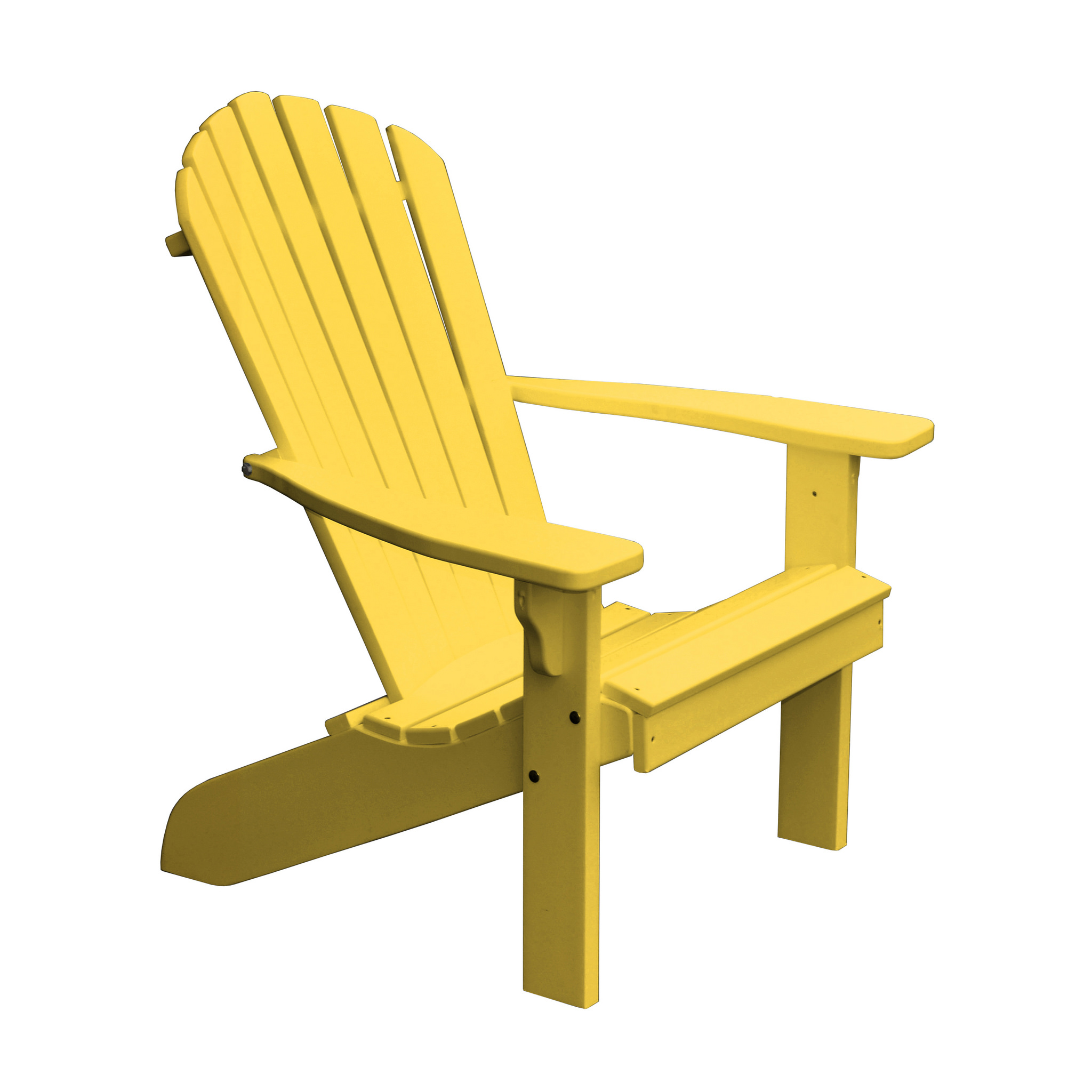 Furniture Barn USA® Poly Fan Back Adirondack Chair - Aruba Blue
