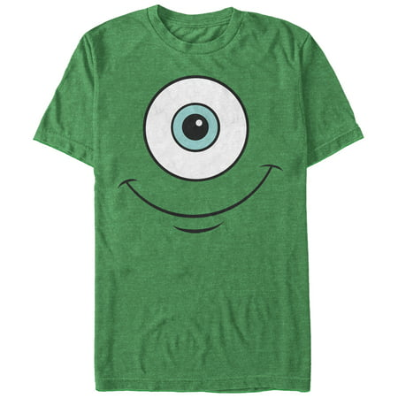 monsters inc men's mike wazowski eye smile t-shirt - Mike Wazowski Shirt