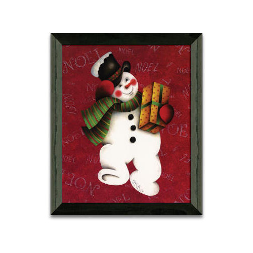 Timeless Frames Hurry Hurry Christmas Holiday by Andrea Roberts Framed Graphic Art by Timeless Frames