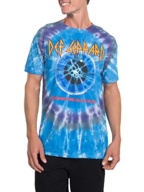 67477a5ac9fd Product Image Def Leppard Men s Adrenalize Target Short Sleeve Graphic T- Shirt