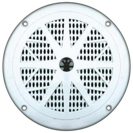 "Pyle 6.5"" White Waterproof Marine Speaker - image 5 de 5"