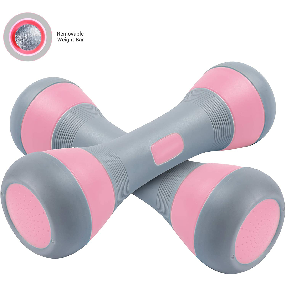 Details about  /4 pcs Kids Plastic Dumbbells Sports Exercise Toy Green /& Pink
