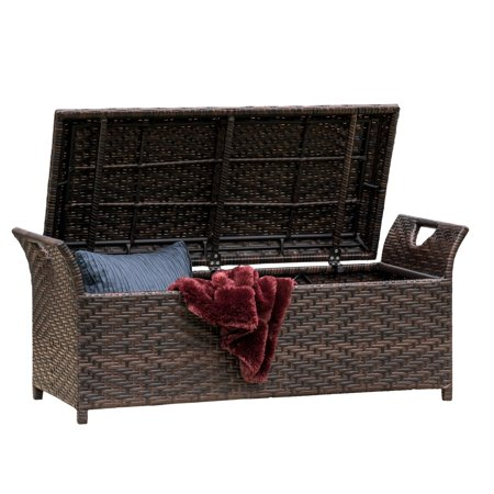 Danica Wing Outdoor Storage Bench ()