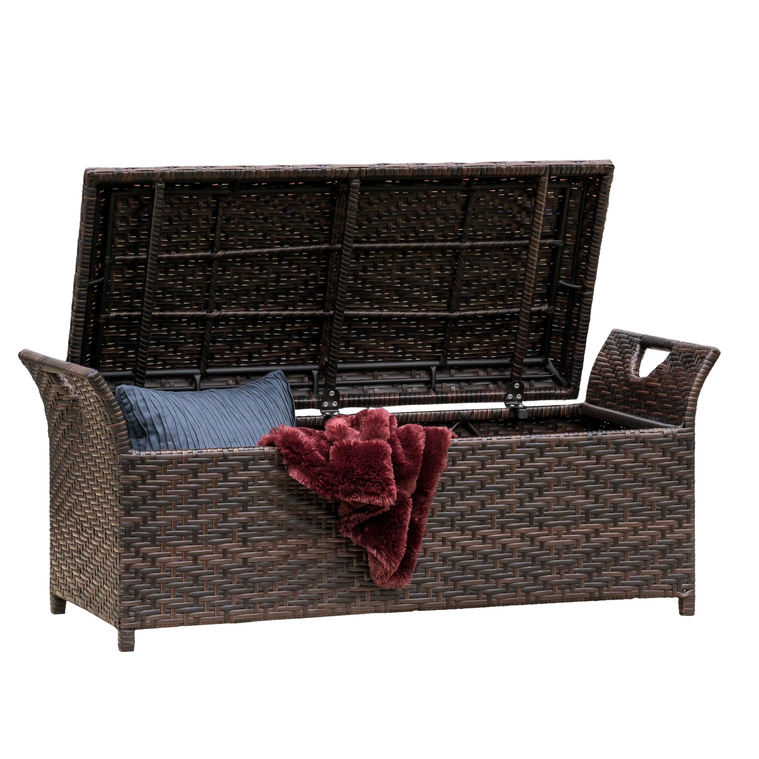 Danica Wing Outdoor Storage Bench