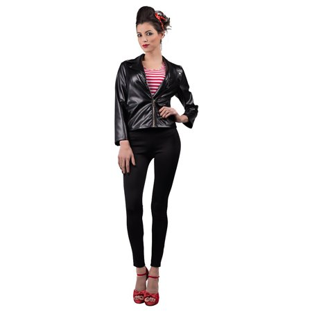 Greaser Jacket Adult Costume - Small (Greasers Costumes)