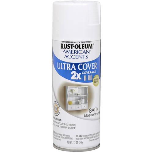 Rust-Oleum Satin Blossom White Ultra Cover 2x