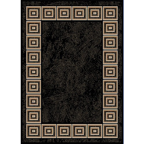Home Dynamix Optimum Collection Area Rug, Black