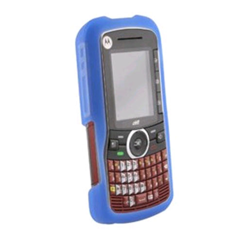WirelessXGroup Silicone Skin Case for Motorola Clutch i465 - Dark Pink